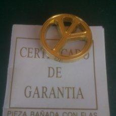 Pins de colección: PINS SIGNO PAZ BAÑADO EN ORO. Lote 59616047