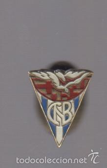 PIN INSIGNIA DE SOLAPA CLUB NATACION BARCELONA (Coleccionismo - Pins)