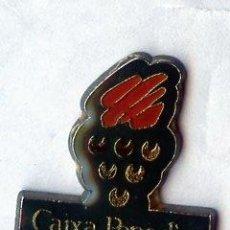 Pins de colección: PINS CAIXA PENEDES CAJA BANCO. Lote 60427107