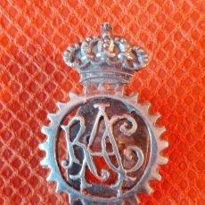 Pins de colección: INSIGNIA DEL RACE, PARA SOLAPA. DE PLATA. AÑOS 60-70. ENVÍO: 1,30 € *.. Lote 62076180