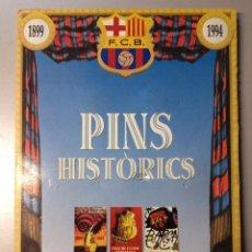 Pins de colección: PINS HISTORICOS DEL F.C.BARCELONA (M). Lote 62383436