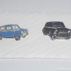 Pins de colección: LOTE DE DOS PINS DEL COCHE MINI. Lote 62723592