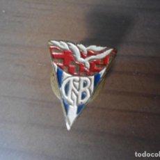 Pins de colección: ANTIGUO INSIGNIA PIN OJAL CNB - CLUB NATACION BARCELONA. Lote 66836434