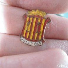 Pins de colección: ANTIGUO PIN AGUJA ESMALTADO ESCUDO VALENCIA . Lote 66956874