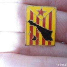Pins de colección: ANTIGUO PIN AGUJA ESMALTADO CATALUÑA. Lote 66988262