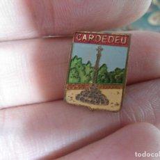 Pins de colección: ANTIGUO PIN AGUJA ESMALTADO CATALAN CARDEDEU . Lote 66988522
