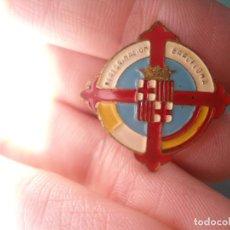 Pins de colección: ANTIGUO PIN AGUJA ESMALTADO PEREGRINACION BARCELONA. Lote 66988954