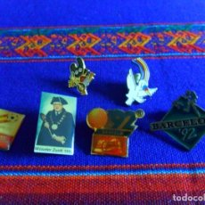 Pins de colección: LOTE DE 21 PINS PIN Y 5 ALFILERES VARIADOS. SUELTOS. LOTE AMPLIADO 2-12-16. Lote 13544571