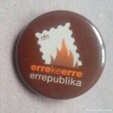 Pins de colección: CHAPA POLITICA ELECTORAL A FAVOR DE LA REPUBLICA. I.U. EUSKADI (PINS POLITICOS, CHAPAS POLITICAS). Lote 68581961