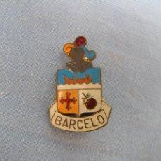 Pins de colección: ANTIGUA INSIGNIA DE SOLAPA ESCUDO BARCELÓ.. Lote 71734823