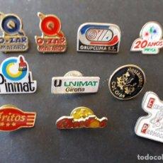 Pins de colección: 10 PINS PUBLICITARIOS / PRYCA, CHEETOS... . Lote 72470775