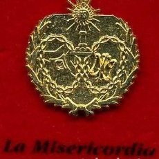 Pins de colección: INSIGNIA ORO DE LA HERMANDAD O COFRADIA DE LA SEMANA SANTA DE SAN FERNANDO( LA MISERICORDIA )Nº96. Lote 73010691