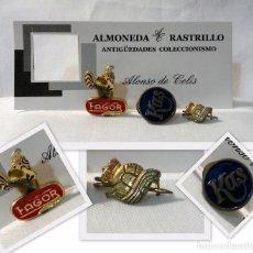 Pins de colección: LOTE DE TRES ANTIGUAS INSIGNIAS , PINS, BROCHE PARA SOLAPA, FAGOR, KAS.... Lote 73601331