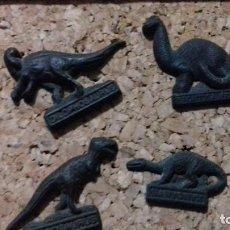Pins de colección: 4 ANTIGUO PINS DINOSAURIOS . Lote 73969571