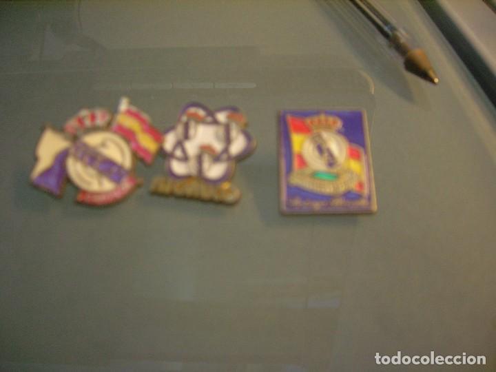 3 PINS REAL MADRID (Coleccionismo - Pins)