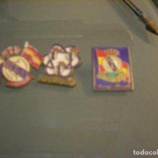 Pins de colección: 3 PINS REAL MADRID. Lote 74281255