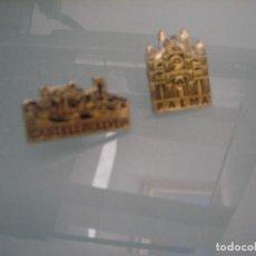 Pins de colección: 2 PINS MONUMENTOS DE PALMA DE MALLORCA (CATEDRAL Y CASTILLO BELLVER). Lote 74343299