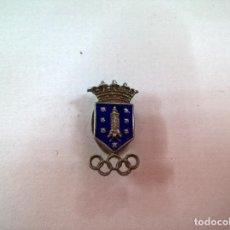Pins de colección: ANTIGUA INSIGNIA DE SOLAPA OJAL-CORUÑA-N. Lote 74617667