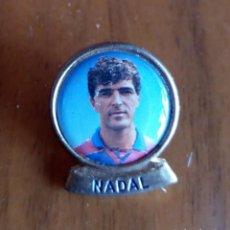 Pins de colección: PINS - PIN JUGADOR F.C. BARCELONA NADAL. Lote 161314336