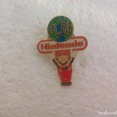 Pins de colección: PIN O INSIGNIA. CLUB NINTENDO. SUPER MARIO BROS. Lote 77344801
