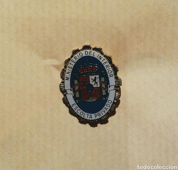 Pin ministerio del interior escolta privado comprar pins antiguos y de colecci n en - Subastas ministerio del interior ...