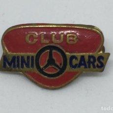 Pins de colección: ANTIGUO PIN DE ALFILER DE CLUB MINI CARS - . Lote 78398501