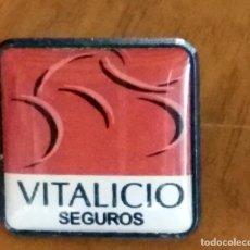 Pins de colección: PINS - PIN VITALICIO SEGUROS. Lote 78670137