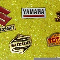 Pins de colección: PIN YAMAHA,SUZUKI HONDA TOTALDE LOS AÑOS 80/90. Lote 79073693