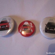 Pins de colección: LOTE 3 PIN CHAPA AUDI A1. Lote 80297697