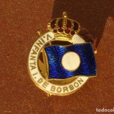 Pins de colección: ANTIGUA INSIGNIA DE OJAL.VAPOR INFANTA ISABEL DE BORBON.(1913-1939).COMPAÑIA TRANSATLÁNTICA ESPAÑOLA. Lote 83264523