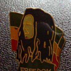 Pins de colección: PINS BOB MARLEY. Lote 107085959