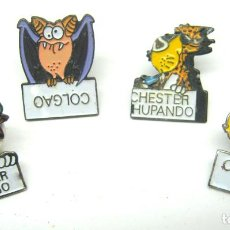 Pins de colección: LOTE 4 PINS CHESTER. Lote 81129136