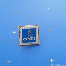 Pins de colección: PIN PUBLICITARIO CABITEL / CLUB DE COLECCIONISTA / TARJETAS TELEFONICAS. Lote 81195820