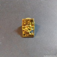 Pins de colección: PIN DE UNIÓN GENERAL DE TRABAJADORES. UGT. Lote 81218319