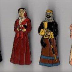 Pins de colección: ZARAGOZA - GIGANTES DE ZARAGOZA - LACADO - SERIE DE 10 PINS. Lote 81819220