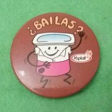 Pins de colección: CHAPA YOPLAIT.¿ BAILAS?.. Lote 82116847