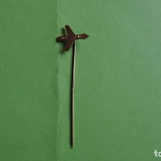 Pins de colección: PIN INSIGNIA EMBLEMA ESCUDO COMPAÑIA AVIACION SWISSAIR. SUIZA. AÑOS 1960. AVION. VUELO. Lote 82561132