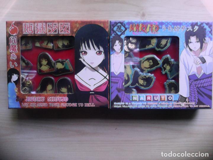 Pins de colección: Cajas de Pins. Naruto, Death Note, Jicoku Shoujo, Syaroan Sakura - Foto 2 - 52724022