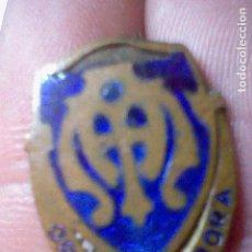 Pins de colección: INSIGNIA ORA ET LABORA ALFILER ESMALTE ANTIGUA. Lote 83268104