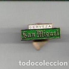 Pins de colección: PIN OJAL CERVEZA SAN MIGUEL. Lote 83569852