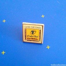 Pins de colección: PIN PUBLICITARIO - CLUB DE COLECCIONISTA. Lote 83635763