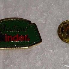 Pins de colección: PIN DE CHOCOLATES CHOCOLATINAS KINDER. Lote 84458192