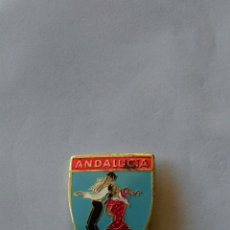 Pins de colección: PIN INSIGNIA AGUJA O ALFILER FLAMENCO BAILE SEVILLANAS ANDALUCÍA ESPAÑA TURISMO FERIA AÑOS 50 60. Lote 84471164