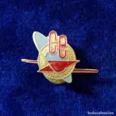 Pins de colección: ANTIGUA INSIGNIA PIN DE OJAL SOLAPA CE. Lote 84542180