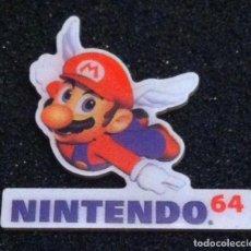 Pins de colección: PIN MARIO BROS NINTENDO 64. Lote 84923684