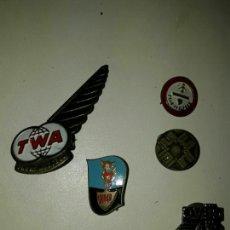 Pins de colección: LOTE DE 5 PINS ANTIGUOS. Lote 85536722