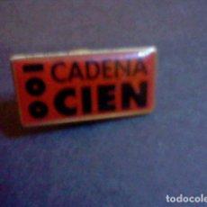 Pins de colección: PIN RADIO CADENA 100 CIEN . Lote 85592860