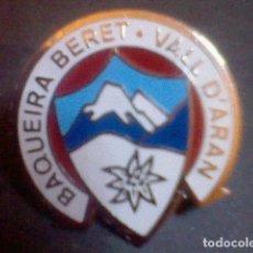 Pins de colección: PIN BAQUEIRA BERET VALL D´ARAN . Lote 86319868