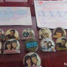 Pins de colección: LOTE DE SENSACION DE VIVIR DE BERBELY HILLS 90210. Lote 86680088