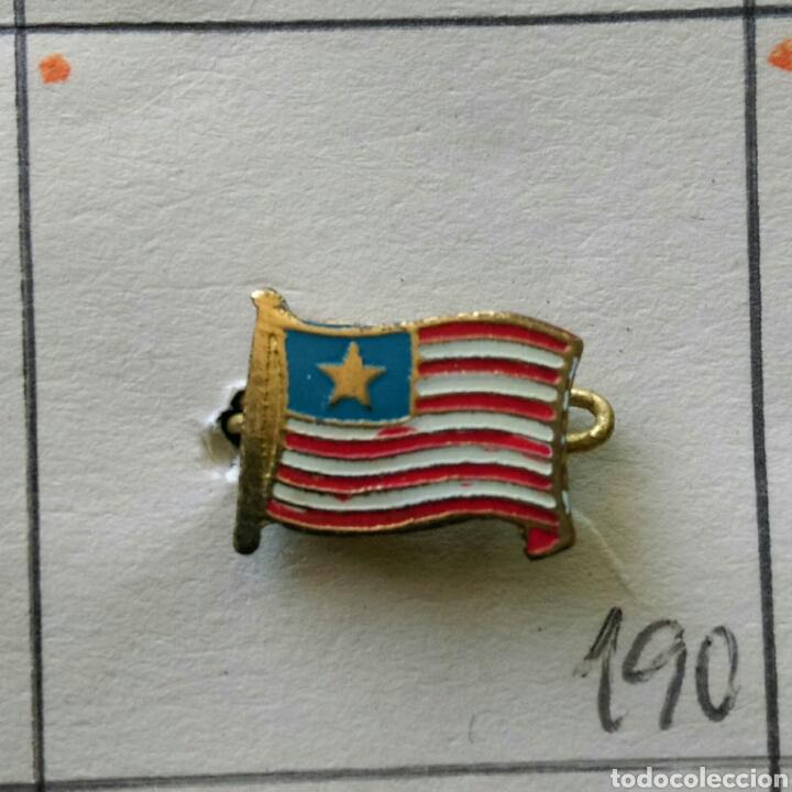 ANTIGUA INSIGNIA AGUJA PIN ALFILER PIN BANDERA DEL MUNDO LIBERIA (Coleccionismo - Pins)